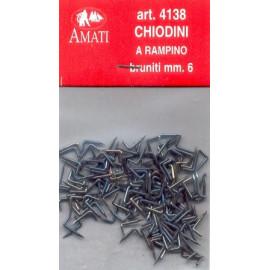 CHIODINI BRUNITI 10mm - AMATI