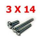 Viti cilindriche esagonali  3x14