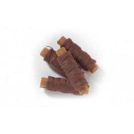 Filo cotone marrone 0,15