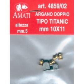 ARGANO SEMPLICE TIPO TITANIC
