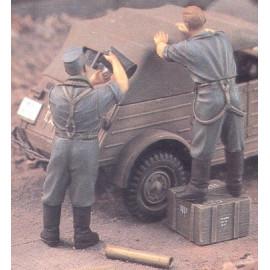 German Infantry in Coats