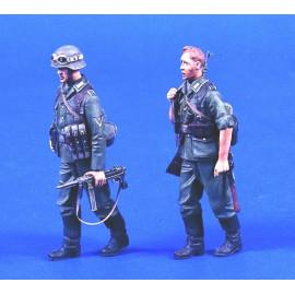 German Infantry camuflage uniforms