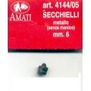 SECCHELLO IN METALLO 6mm