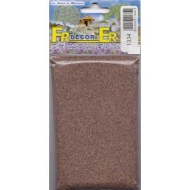 Polvere marrone fine