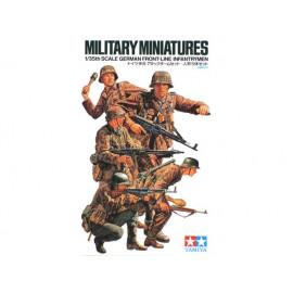 German Front-Line Infantrymen