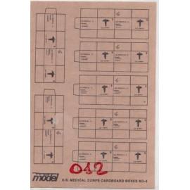 U.S CARDBOARD BOXES N°4