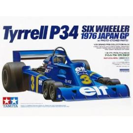 TYRRELL P34 six wheller 1/24