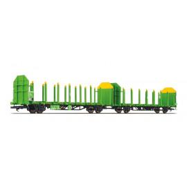 set due carri trasporto legname Laaps RAILTRANS OBB ep. VI