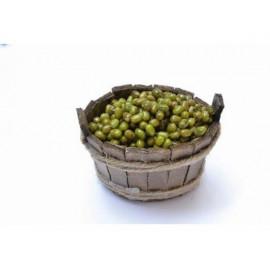 Tinozza in Legno con Olive