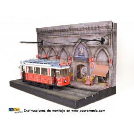 DIORAMA Tram LISBONA