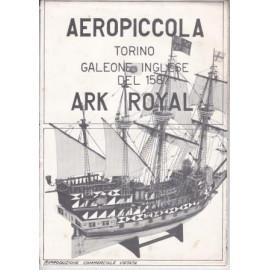 DISEGNO COSTRUTTIVO ARK ROYAL Aeropiccola