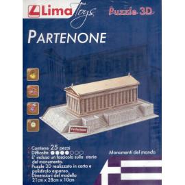 PARTENONE  PUZZLE 3D