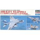 JASDF AIRCRAFT WEAPONS 1 - HASEGAWA