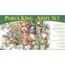 PORUS KING - ARMY SET