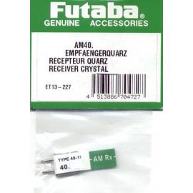 QUARZO RX AM40.695 FUTABA