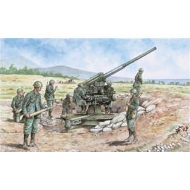 CANNONE 90/53 CON SERVENTI - 6122 WWII