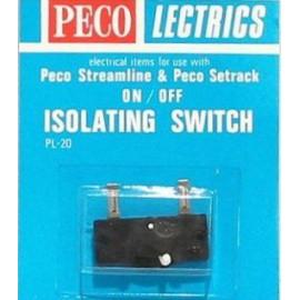 Micro switch per deviatoi - PEGO