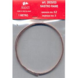 NASTRO RAME 2mm