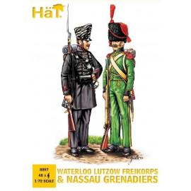 Neth. Militia & Belgian Inf - HAT8096