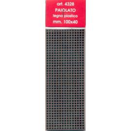 PAIOLATO IN LEGNO PLASTICO 100x40mm - AMATI