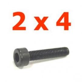 Viti cilindriche esagonali  2x4