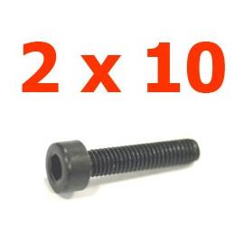 Viti cilindriche esagonali  2x10