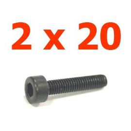 Viti cilindriche esagonali  2x16