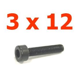 Viti cilindriche esagonali  3x6