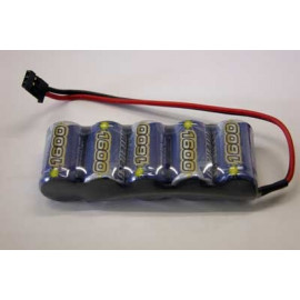 Pacco Batteria NIMH 6V 1600MAh INTELLECT