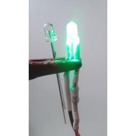 LED LUCE VERDE 3mm