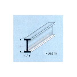 PROFILATO PLASTICA IPE 4x8x1000mm