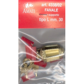 FANALE CON SUPPORTO 30mm