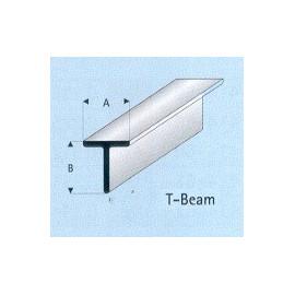 PROFILATO PLASTICA T 3x3x1000mm