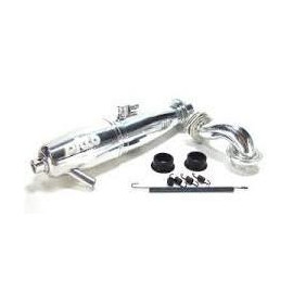 KIT MUFFER P1-R RE CONICAL POLISHED PICCO