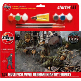WWII U.S. Infantry Multipose Gift Set 1/32 AIRFIX