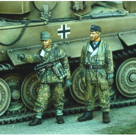 German Tankers with Jerrycans