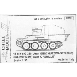 Sd.Kfz 138/1 Ausf K GRILLE
