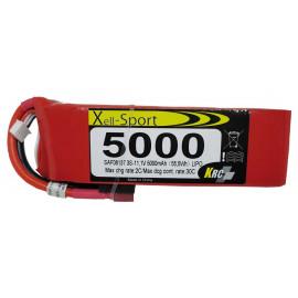Lipo Xell-Sport 11.1V 5000MAH 3S