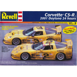 CORVETTE C5-R 2001 DAYTONA 24 HOURS