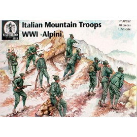 ITALIAN MOUNTAIN TROOPS WWI ALPINI