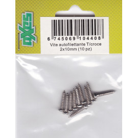 Vite autofilettante T/croce 2x10mm