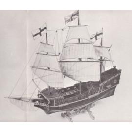 DISEGNO COSTRUTTIVO HMS LYON 1635