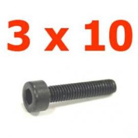 Viti cilindriche esagonali  3x12