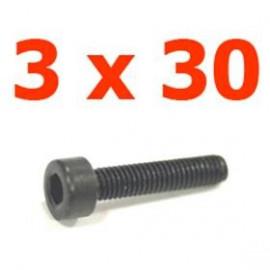 Viti cilindriche esagonali  3x30