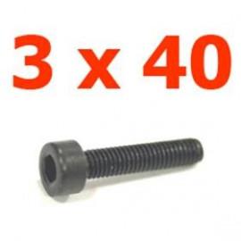 Viti cilindriche esagonali  3x40
