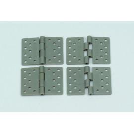 Cerniere in nylon 16x28mm