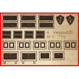 Laser incisioni porte A. Vespucci 1/100