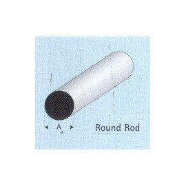 TONDINO PLASTICA 2,5x1000mm
