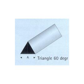 TRIANGOLO PLASTICA 60°  5x1000mm