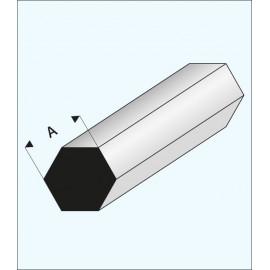 ESAGONO PLASTICA 2x1000mm